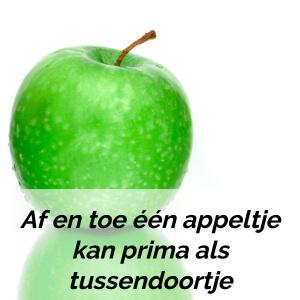 Fruit als tussendoortje