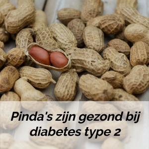pinda's zijn gezond