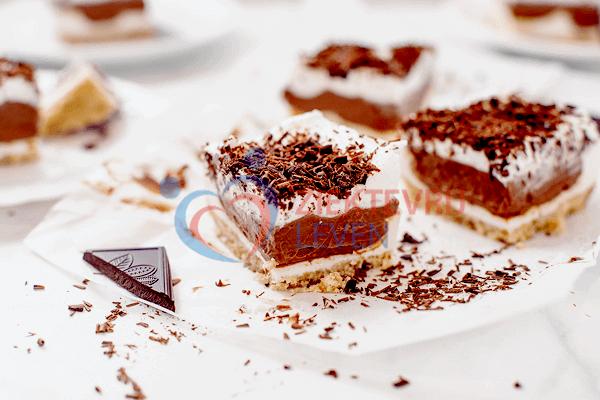 Koolhydraatarme Taart met Chocolade (Suikervrij Recept)