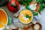 Koolhydraatarme Vegetarische Pompoensoep (Gezond Recept)