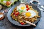 Koolhydraatarme Nasi met Bloemkoolrijst (Vegetarisch Recept)