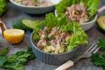 Gezonde Koolhydraatarme Salade Met Tonijn uit Blik (Simpel Recept)